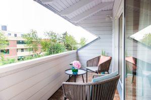 Balkon in Deine Bude in unserer Bude54 in SPO