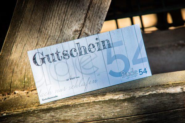 Gutschein für unsere Bude54
