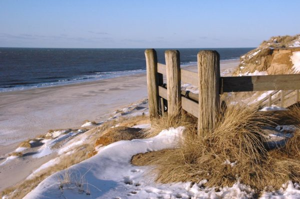 Winter in St. Peter-Ording bei der Bude54