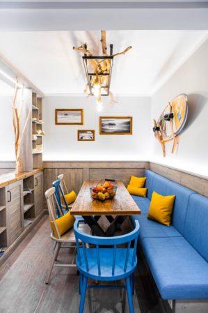 Wohnzimmer in der Bude54